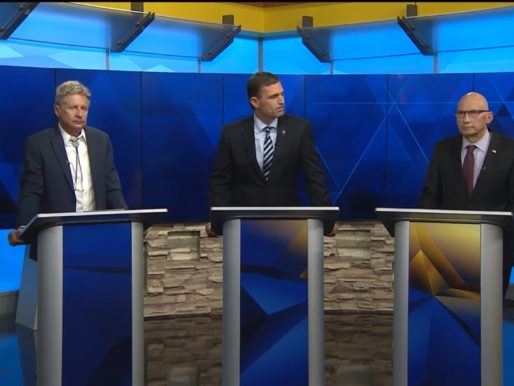 Three Way in New Mexico's Senate Debate